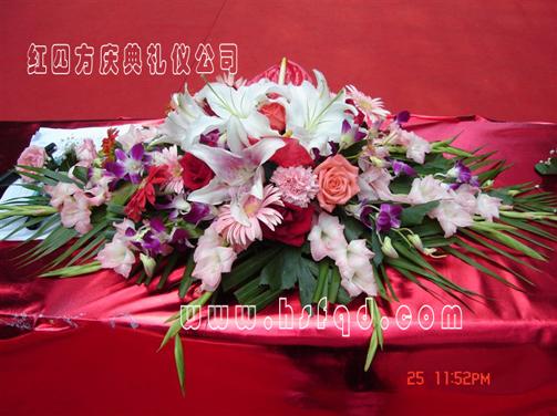 红亚搏体育官网登录庆典公司-花卉布置